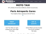 Moto Taxi Paris Roissy Orly – VIP – English spoken